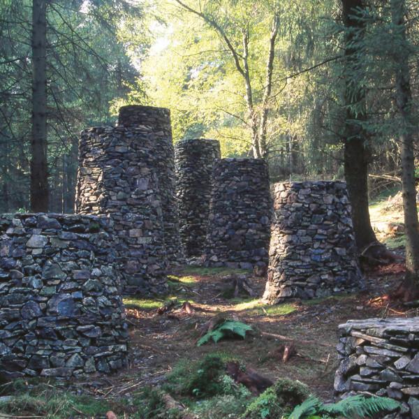 石造の暦 | STONE FOREST<br /> 1991<br /> グライスデール フォレストミュージアム(カンブリア・イギリス)