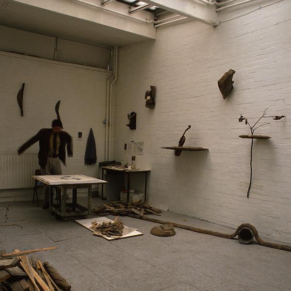 ロンドンのスタジオ | MY STUDIO IN LONDON<br /> 1989